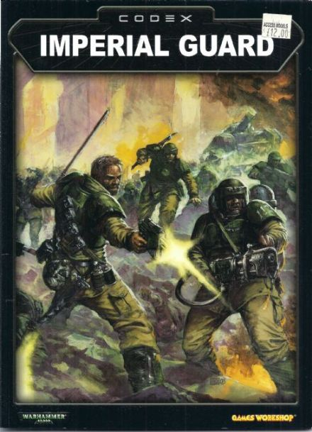 Imperial Guard Codex Rulebook 2003
